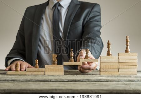 Conceptual Image Of Career Management
