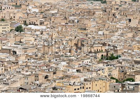 The old city of Fez in Morocco