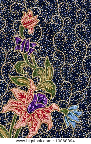 Background Of Thai Style Weave.