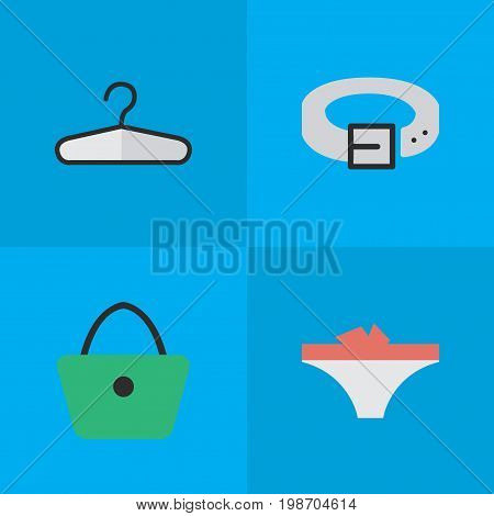 Vector Illustration Set Of Simple Equipment Icons