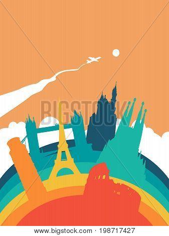 Travel Europe World Landmark Landscape