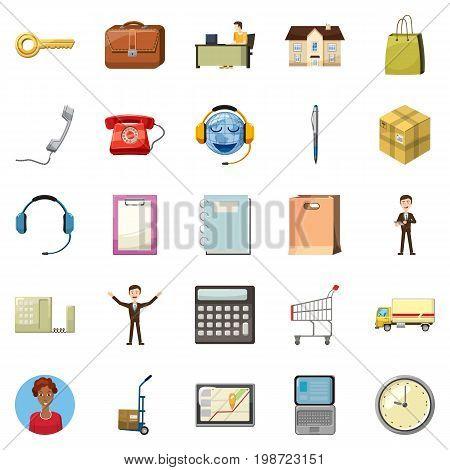 Remittance of money icons set. Cartoon set of 25 remittance of money vector icons for web isolated on white background