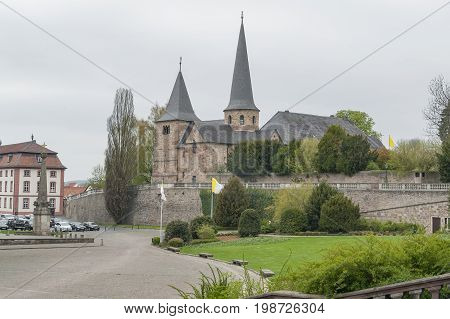 St Michaels Church in Fulda a city in Hesse Germany