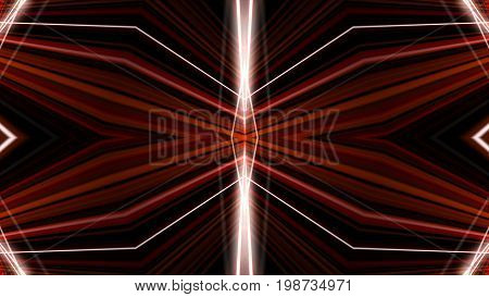 Kaleidoscopic Interference Pattern Of A Laser Beam Reflected By A Polymer Film