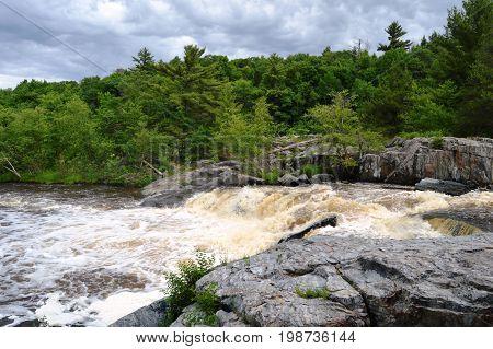 Big Falls County Park near Eau Claire WI