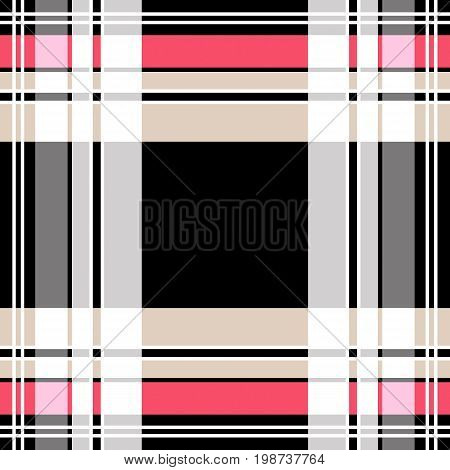 Checkered tartan plaid pattern background  fabric, texture,