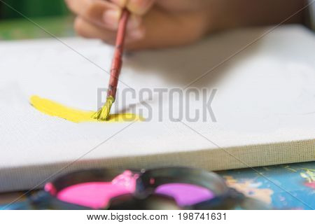 Child's Hands Drawing