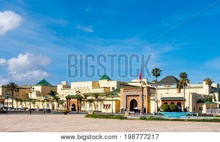Royal Palace in Rabat Rabat-Salé-Zemmour-Zaer Morocco Maghreb Africa