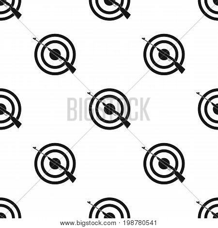 Weapon and target. Shooting gallery in an amusement park.Amusement park single icon in black style vector symbol stock web illustration.