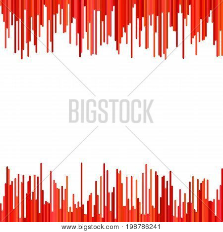 Modern abstract geometrical background from vertical stripe pattern in red tones - vector graphic design