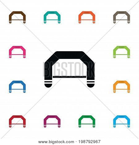 Banner Vector Element Can Be Used For Banner, Finish, Line Design Concept.  Isolated Finish Line Icon.