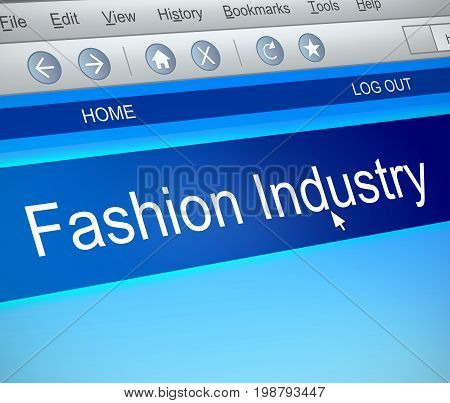 Fashion Industry Concept.