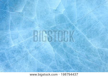 ice background texture. ice pieces with different shapes and cracks.