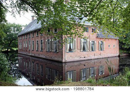 Havezate Mensinge in the village Roden.The Netherlands
