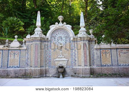 Fountain In Sintra, Portugal