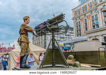 International Festival: Anti-aircraft Guns