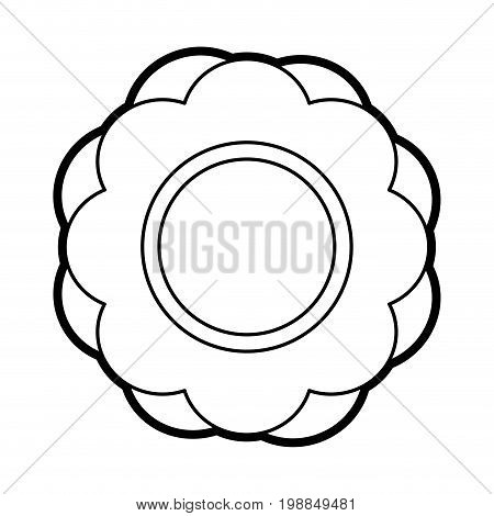 flower pin with water funny or joke item icon image vector illustration paint