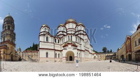 Cathedral of St. Panteleimon the Great Martyr in the New Athos Monastery of St. Simon the Zealot