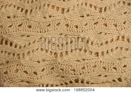 White bright background of woolen cloth sweaters