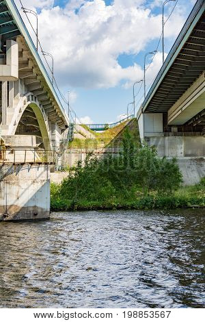 Bridge Across The Moscow River, Russia
