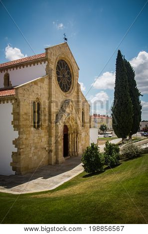 Sta Maria do Olival church in the city of Tomar in Portugal