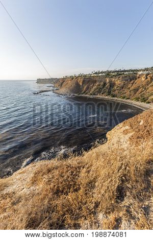 Rancho Palos Verdes coastline in Southern California.