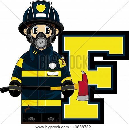 F Is For Fireman 4.eps