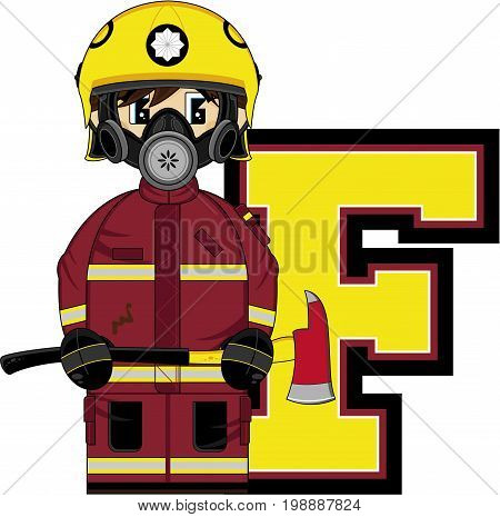 F Is For Fireman 7.eps