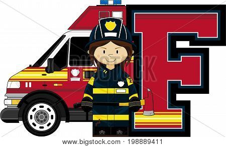 F Is For Fireman 16.eps