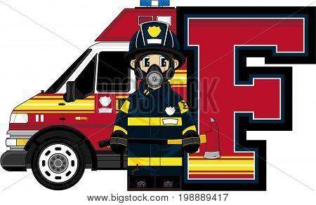 F Is For Fireman 19.eps