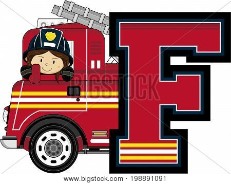 F Is For Fireman 32.eps