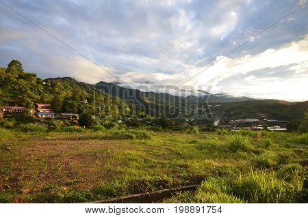 Mount Kinabalu During Sunrise