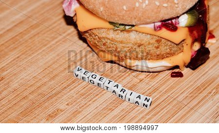 Vegetarian Tasty Burger
