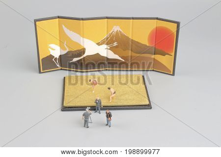 Movie Marker Of  Figure Sumo Wrestler
