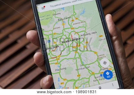 Google Map Application