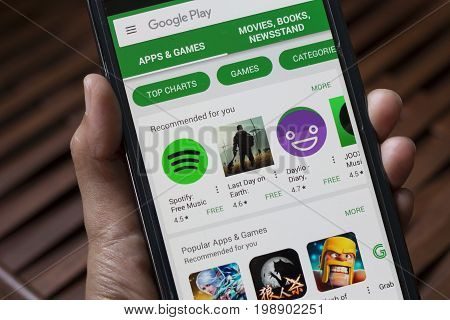 Applications In Google Play