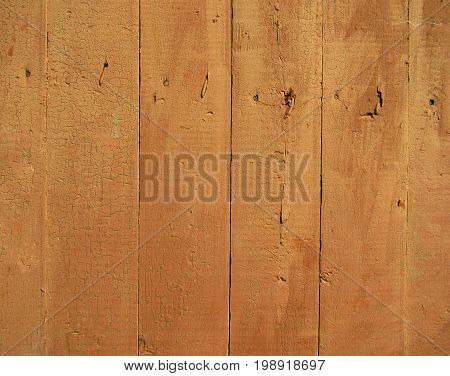 Wood texture background. Old broun panels. Wall.