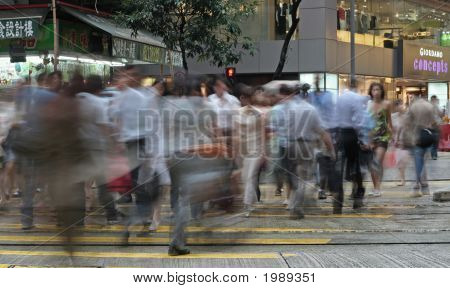 Hong Kong Hustle And Bustle