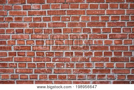 Modern brick wall, red brick wall or brown brick wall textur for background.