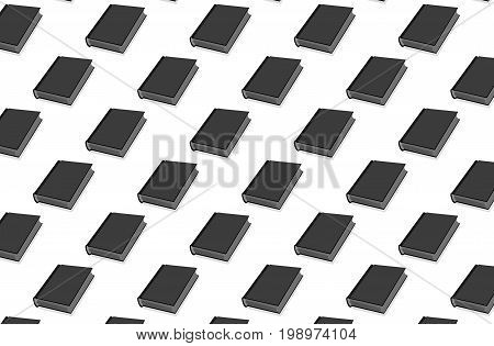 Book - vector pattern , Book - vector background