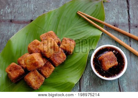 Vegetarian Food, Fried Tofu