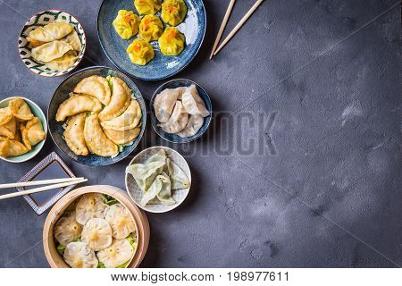 Dim Sum Background