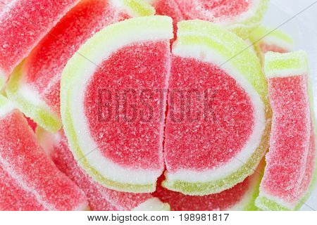 Color Fruit Jelly Candies