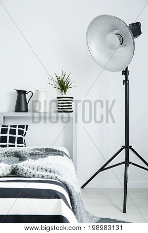 Modern Bedroom With King-size Bed