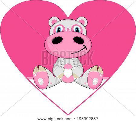 Cartoon Hippo 3