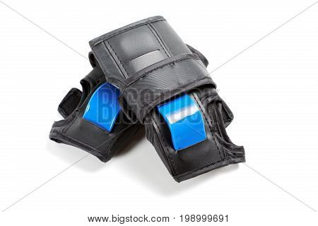 Protection For Hands When Riding A Bicycle Isolated