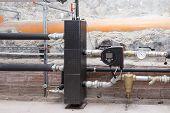 Circulation pump energy-saving in the boiler room poster