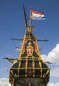 "The Dutch Tall ship ""Batavia"" in Lelystad poster"
