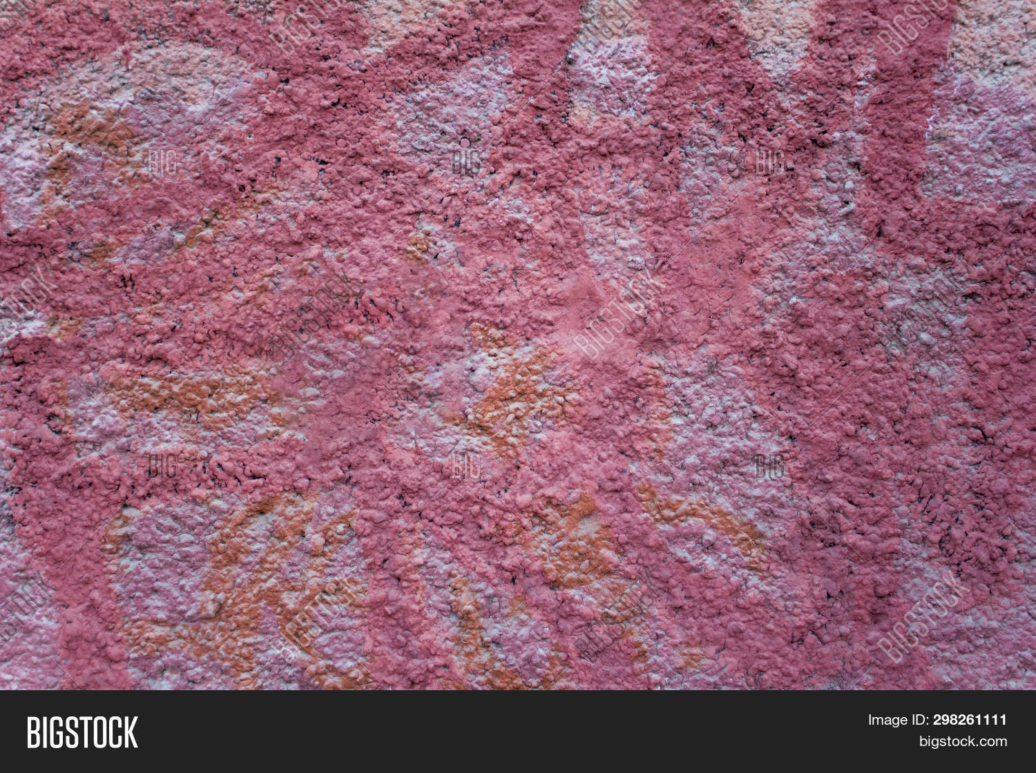 Pink Granular Concrete Image Photo Free Trial Stock