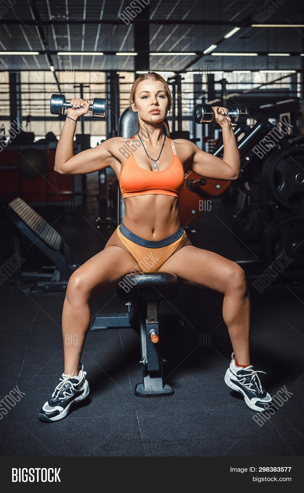 Girls in panties lifting weights Perfect Sexy Girl Image Photo Free Trial Bigstock